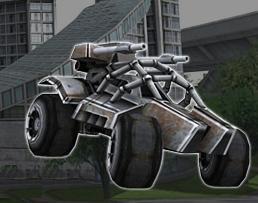 3D Askeri Araba