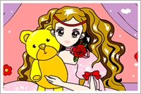 Sevimli Kız Boya