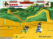 Wushu dövüşü